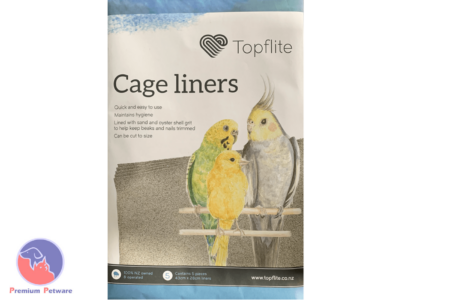 TOPFLITE GRITTED CAGE LINERS