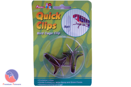 PERCELL QUICK CLIPS CUTTLEFISH / MILLET / GREENS CAGE HOLDER