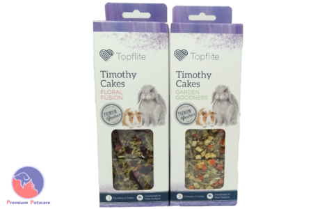 TOPFLITE TIMOTHY CAKES FOR RABBITS, GUINEA PIGS & CHINCHILLAS