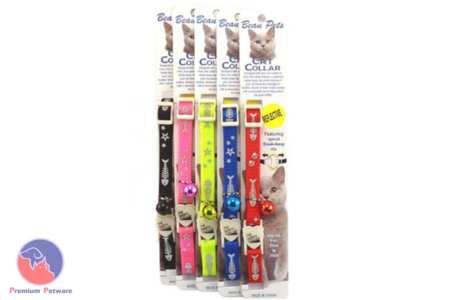 BEAU PETS FISHBONE CAT COLLARS