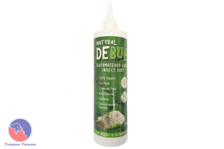DEBUG DIATOMACEOUS EARTH PUFFER BOTTLE