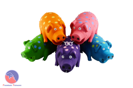 MULTIPET PIGGLESWORTH LATEX DOG TOY