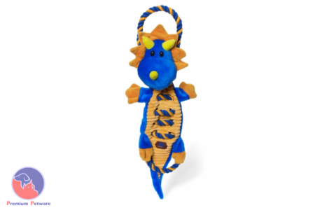 PETSTAGES CHARMING PETS ROPES-A-GO-GO DRAGON