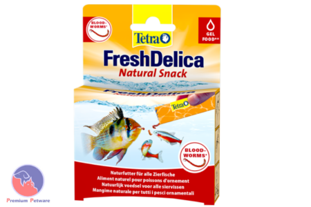TETRA FRESHDELICA GEL TREATS FOR FISH