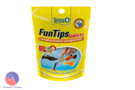 TETRA FUNTIPS TABLETS FOR TROPICAL FISH