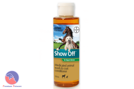 SHOW OFF MEDICATED ANIMAL WASH AND COAT CONDITIONER