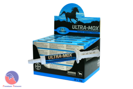 ULTRAMOX 3 in 1 HORSE WORMING PASTE