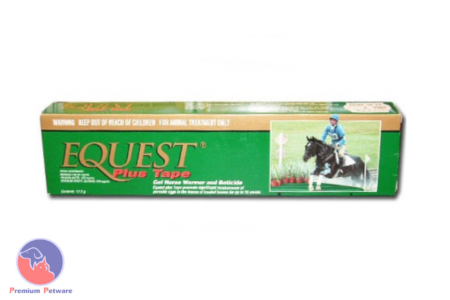 EQUEST® PLUS TAPE GEL HORSE WORMER