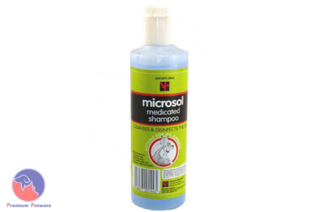 VET REMEDIES MICROSOL MEDICATED SHAMPOO - 250ml