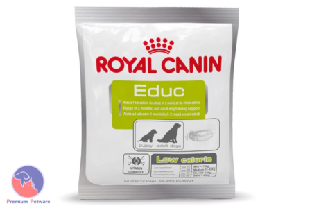 ROYAL CANIN EDUC LOW CALORIE DOG TRAINING TREATS