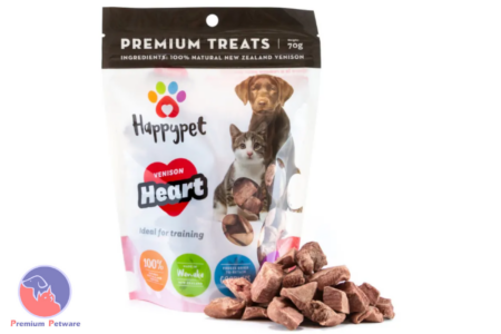 HAPPYPET VENISON HEART TREATS