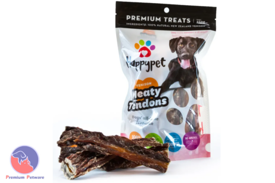 Happypet Meaty Tendons Venison Dog Chews