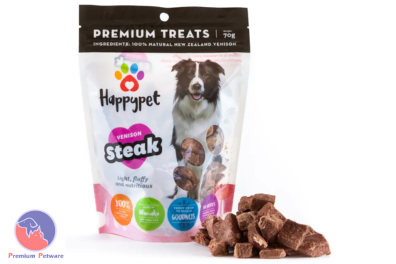 Happypet Venison Steak Treats