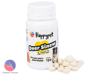 HAPPYPET DEER SINEW TABLETS 150 PACK