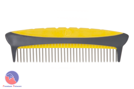 JW PET GRIPSOFT ROTATING COMFORT GROOMING COMB
