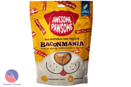 AWESOME PAWSOME BACONMANIA DOG TREATS