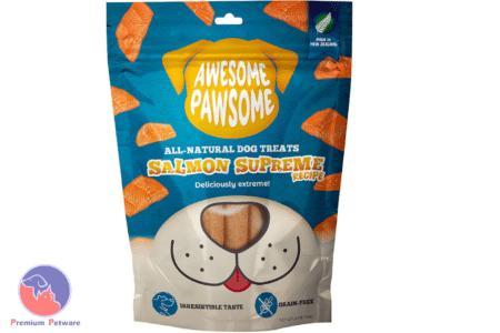 AWESOME PAWSOME SALMON SUPREME TREATS