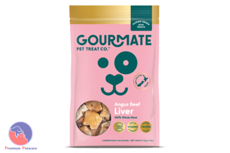 GOURMATE BEEF LIVER DOG TREATS