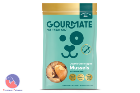 GOURMATE GREEN LIPPED MUSSEL DOG TREATS