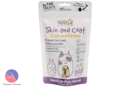 NRG+ CAT SKIN & COAT TREATS