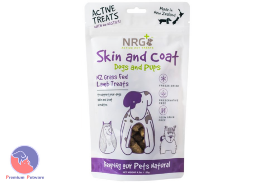 NRG+ Dog Skin And Coat Treats