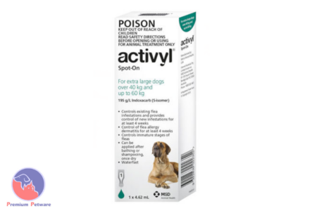 ACTIVYL SPOT ON FLEA TREATMENT FOR DOGS