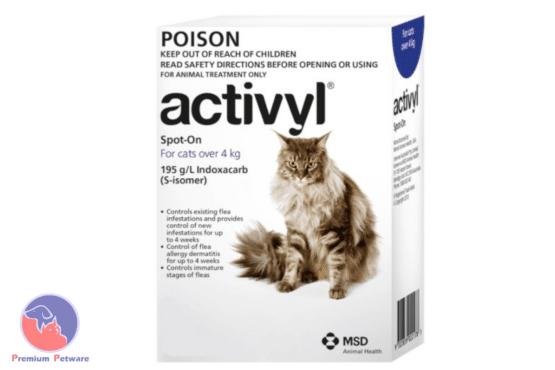 Activyl Spot On Flea Treatment for Cats