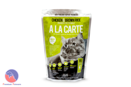 A LA CARTE CHICKEN AND BROWN RICE CAT FOOD