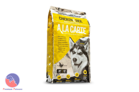 A LA CARTE SMOKED CHICKEN AND RICE ADULT DOG FOOD