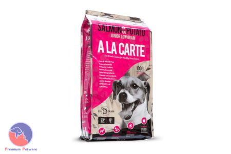 A LA CARTE SALMON AND POTATO LOW GRAIN DOG FOOD