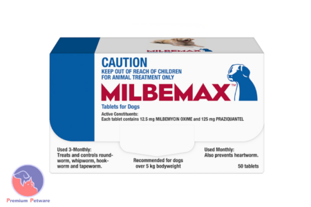 MILBEMAX WORM TREATMENT FOR DOGS - 50 TABLET PACKS