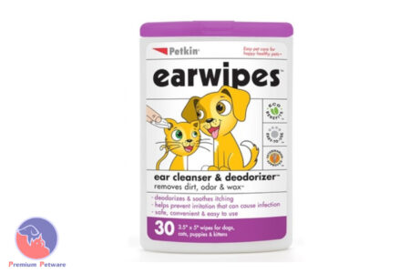 PETKIN EAR WIPES - 30 PACK