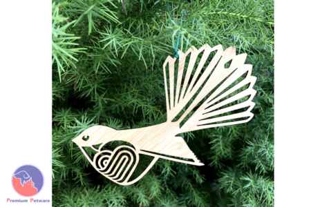 TOPFLITE WOODEN BIRD DECORATIONS
