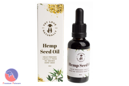 OLIVE'S KITCHEN VET LOVE HEMP SEED OIL FOR PETS