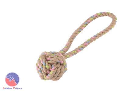 BECO ROPE - HEMP BALL WITH LOOP