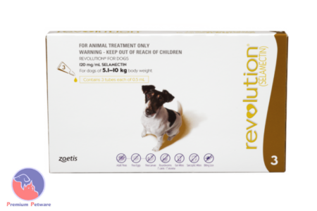 REVOLUTION PARASITE TREATMENT FOR DOGS