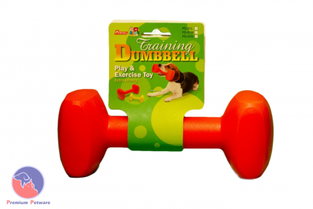 PERCELL DOG TRAINING DUMBBELL - LARGE