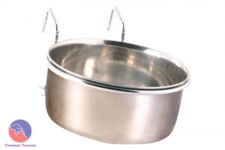 STAINLESS STEEL CAGE BOWL WITH HOLDER